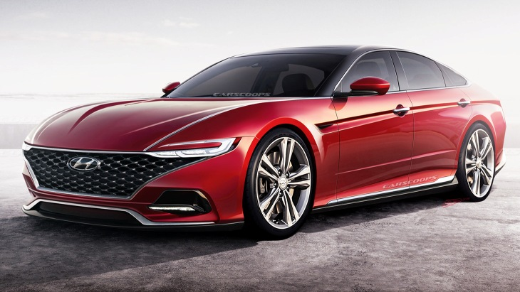 Каким будет новый седан Hyundai Sonata 1
