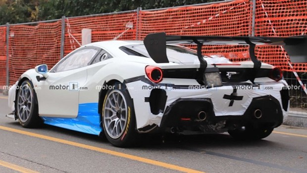 «Дикий» прототип Ferrari замечен во время тестов 2