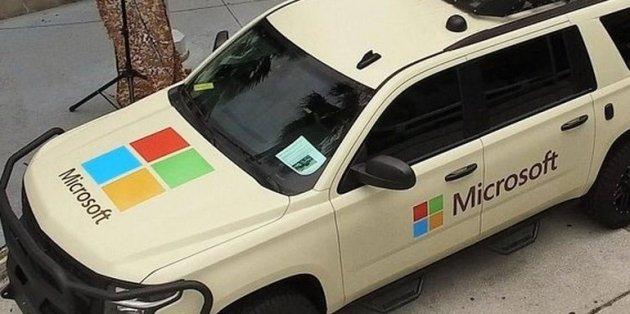 Microsoft представила автомобиль для военных 1