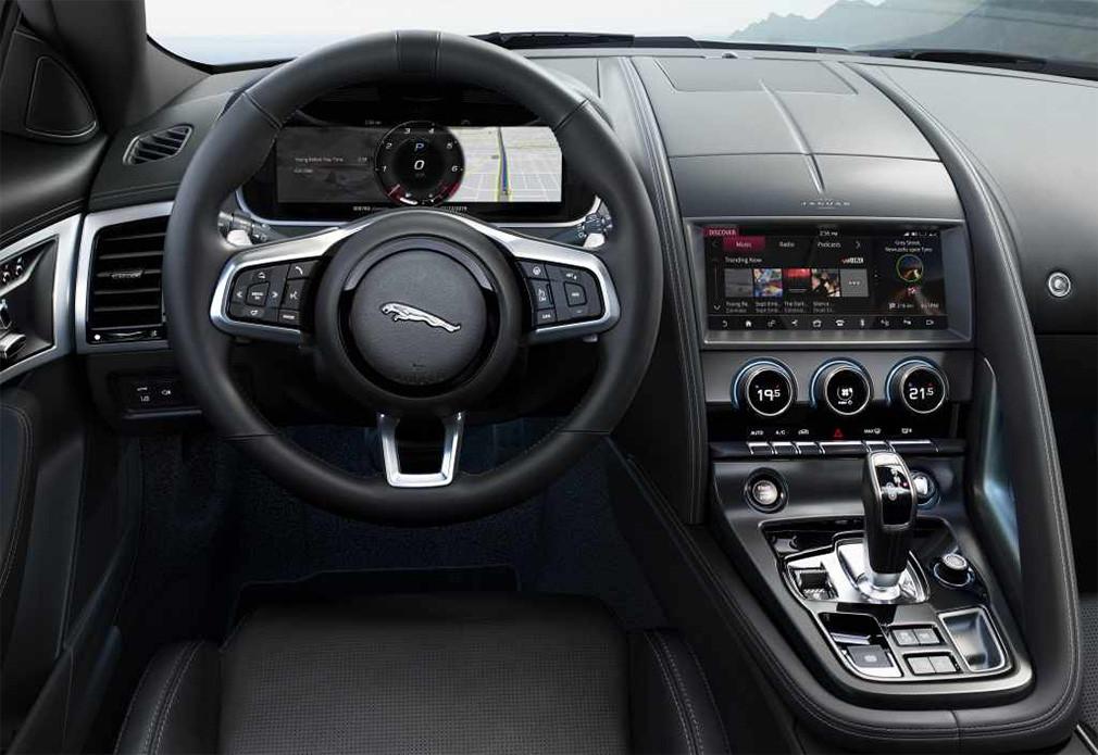 Jaguar представил обновленный F-Type 3