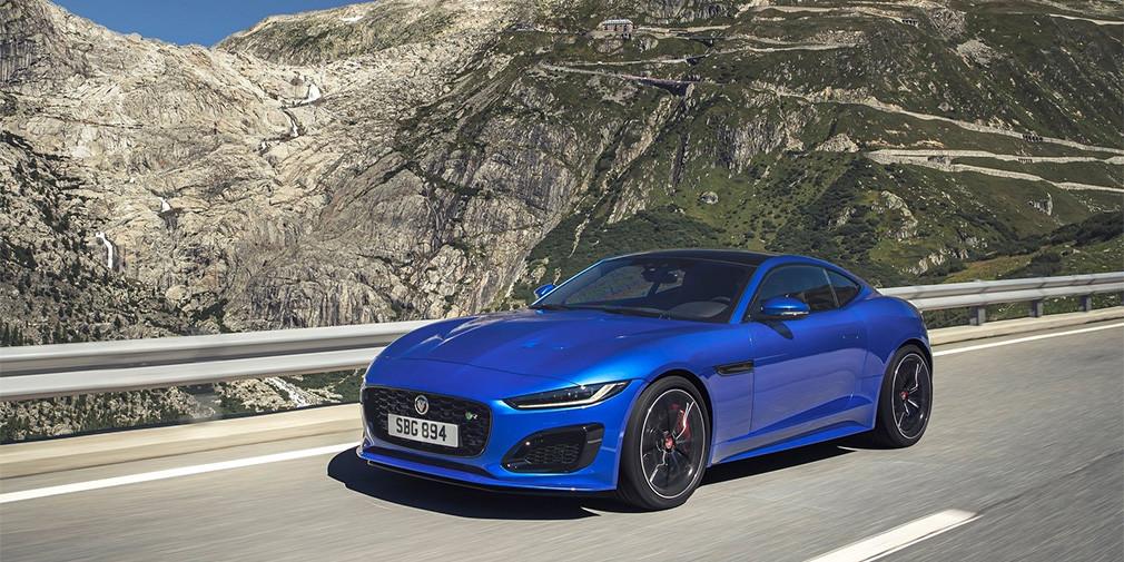 Jaguar представил обновленный F-Type 1