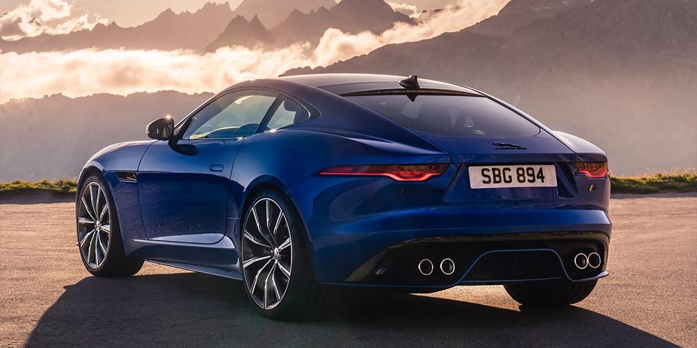 Jaguar представил обновленный F-Type 2