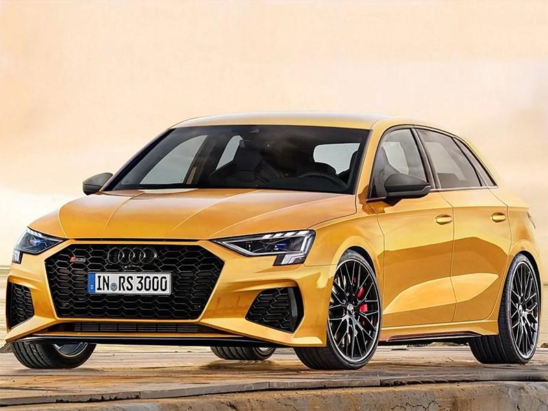 Audi RS3 может стать гибридом 1