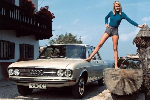 История компании Audi 4