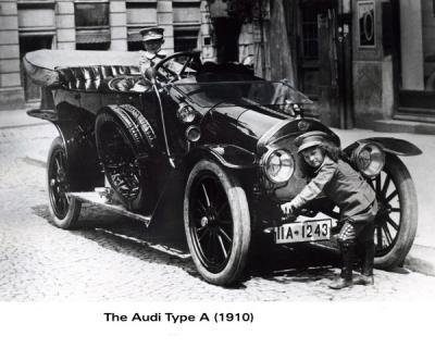 История компании Audi 2