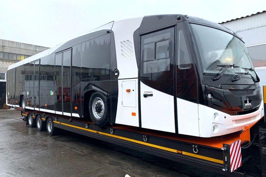 В Сети неожиданно рассекретили новый автобус МАЗ для аэропорта «Борисполь» 1