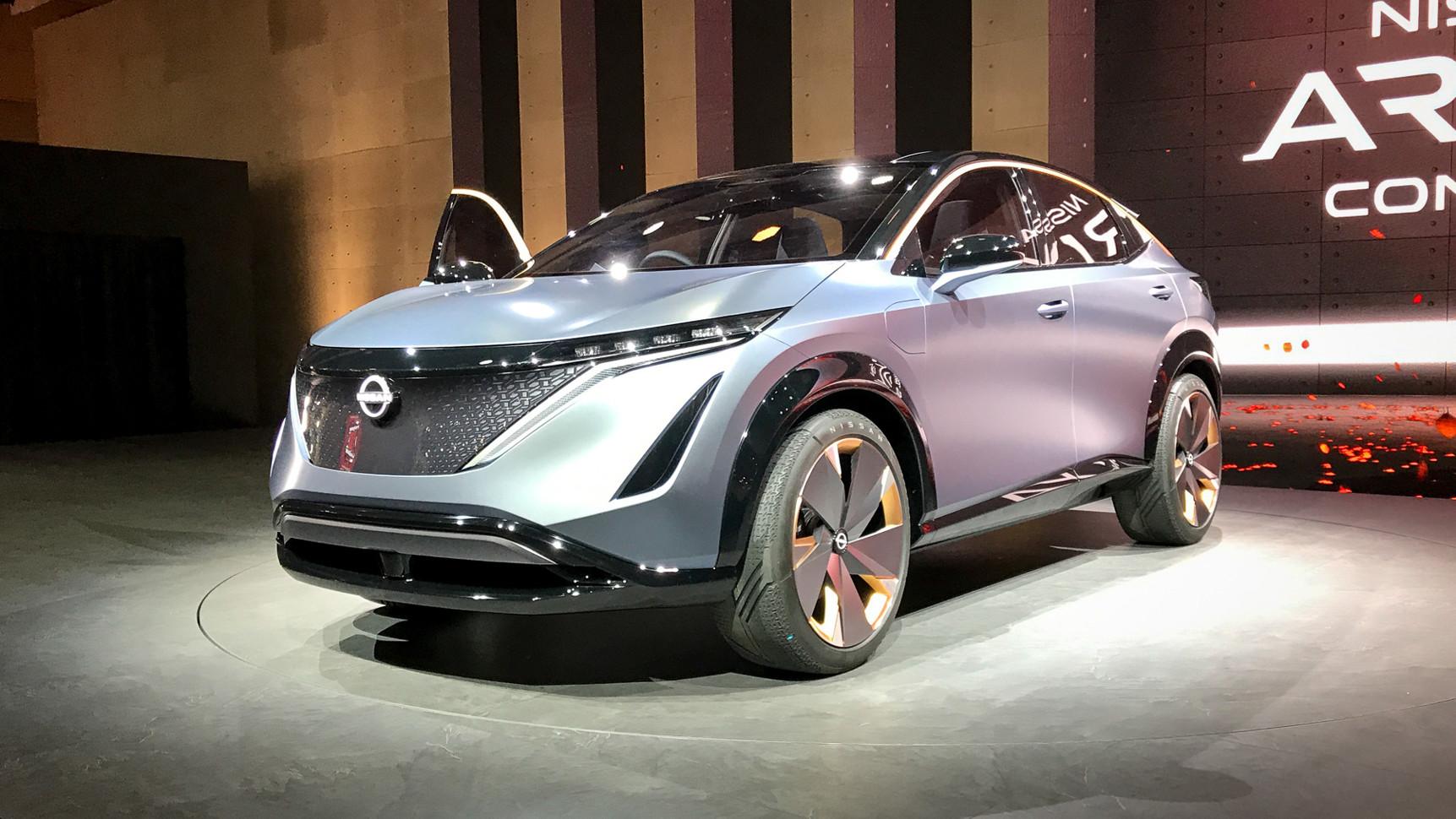 Nissan покажет концепт нового кроссовера на шоу в Лас-Вегасе 1