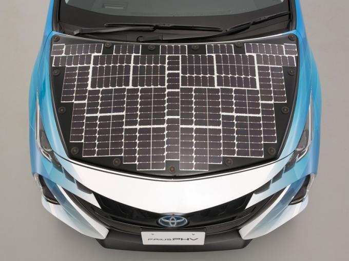 Toyota Prius будет питаться солнечной энергией 1
