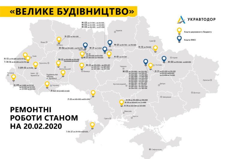 Укравтодор приступил к масштабному дорожному строительству раньше срока 1