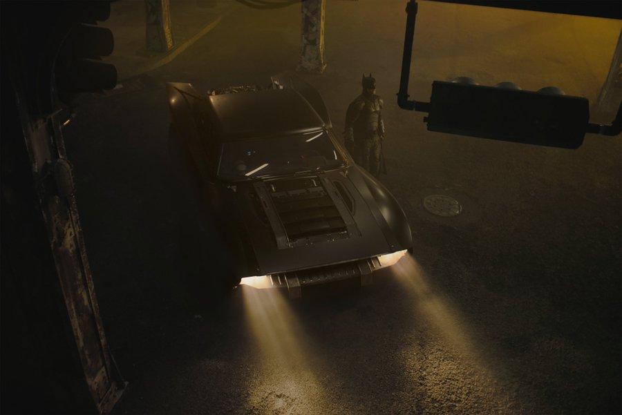 В Сети показали новый Бэтмобиль 1