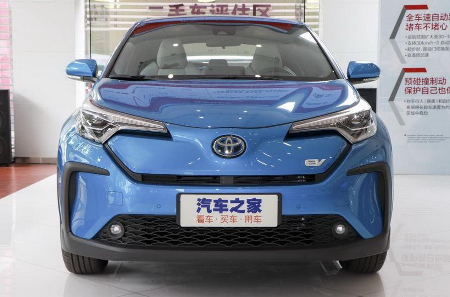 Toyota превратила популярный кроссовер в электрокар 1