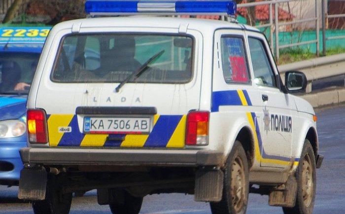 Украинская полиция пересела на автомобили Lada 1