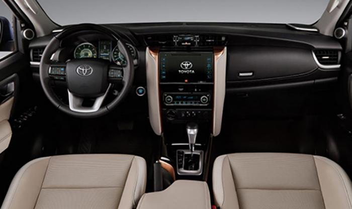 Опубликованы первые изображения Toyota Fortuner 2