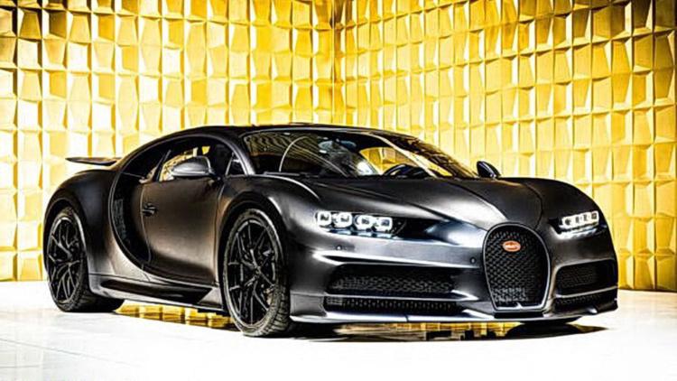 Подержанный Bugatti Chiron продают за 3,5 миллиона евро 1