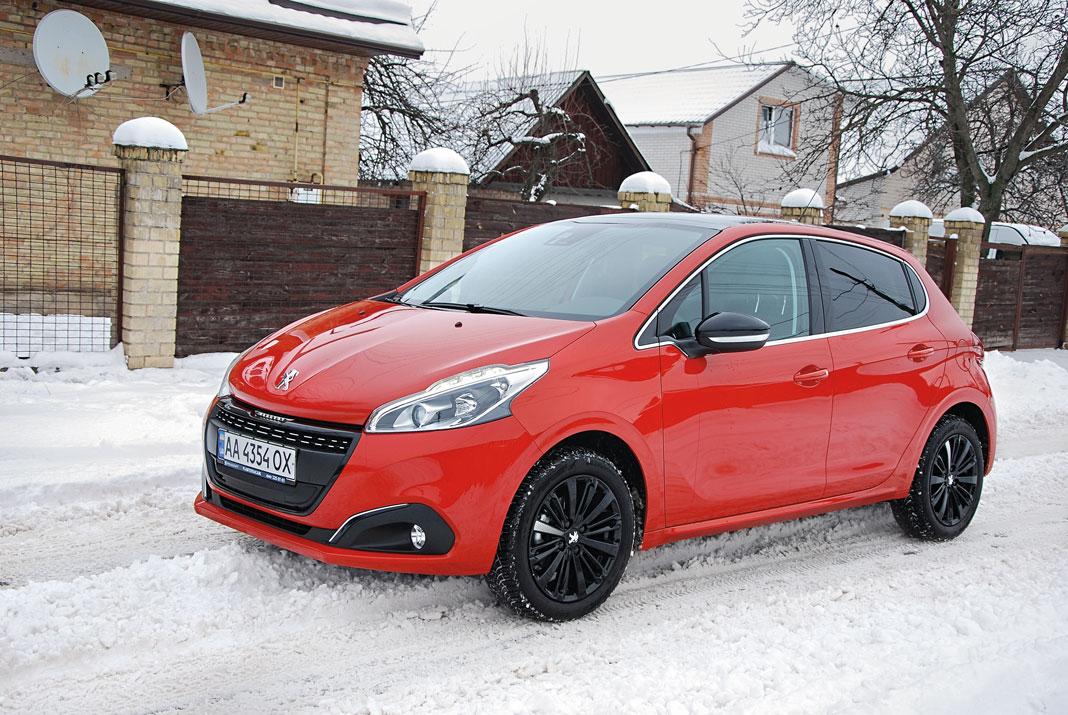 «Как с картинки»: тест-драйв Peugeot 208 1