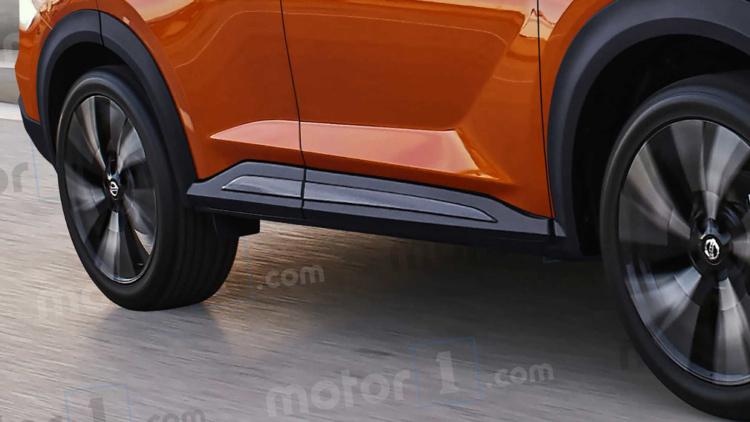 Первые изображения нового Nissan Qashqai показались в Сети 2