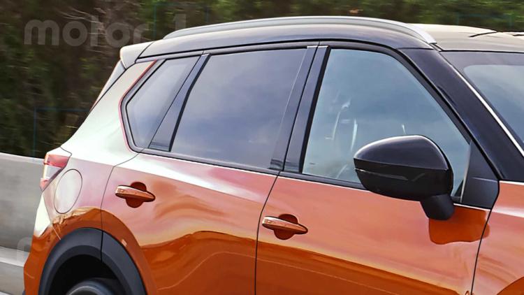Первые изображения нового Nissan Qashqai показались в Сети 3