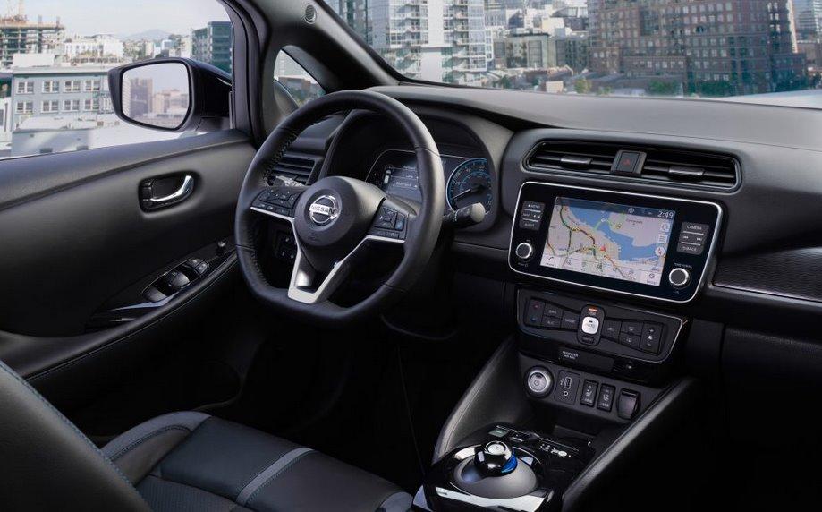 Обзор электромобиля Nissan Leaf e-Plus 4