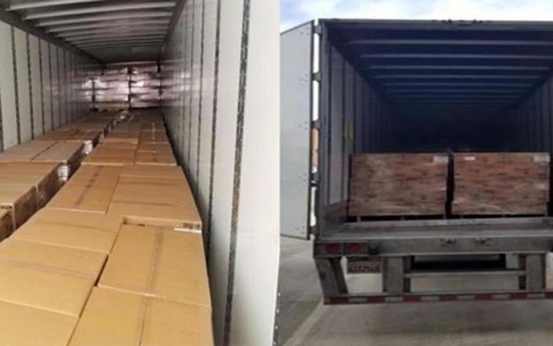 Полицейские нашли угнанный грузовик с туалетной бумагой 1