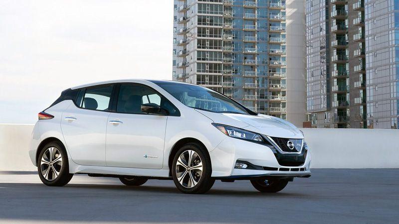Обзор электромобиля Nissan Leaf e-Plus 3