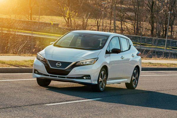 Обзор электромобиля Nissan Leaf e-Plus 1