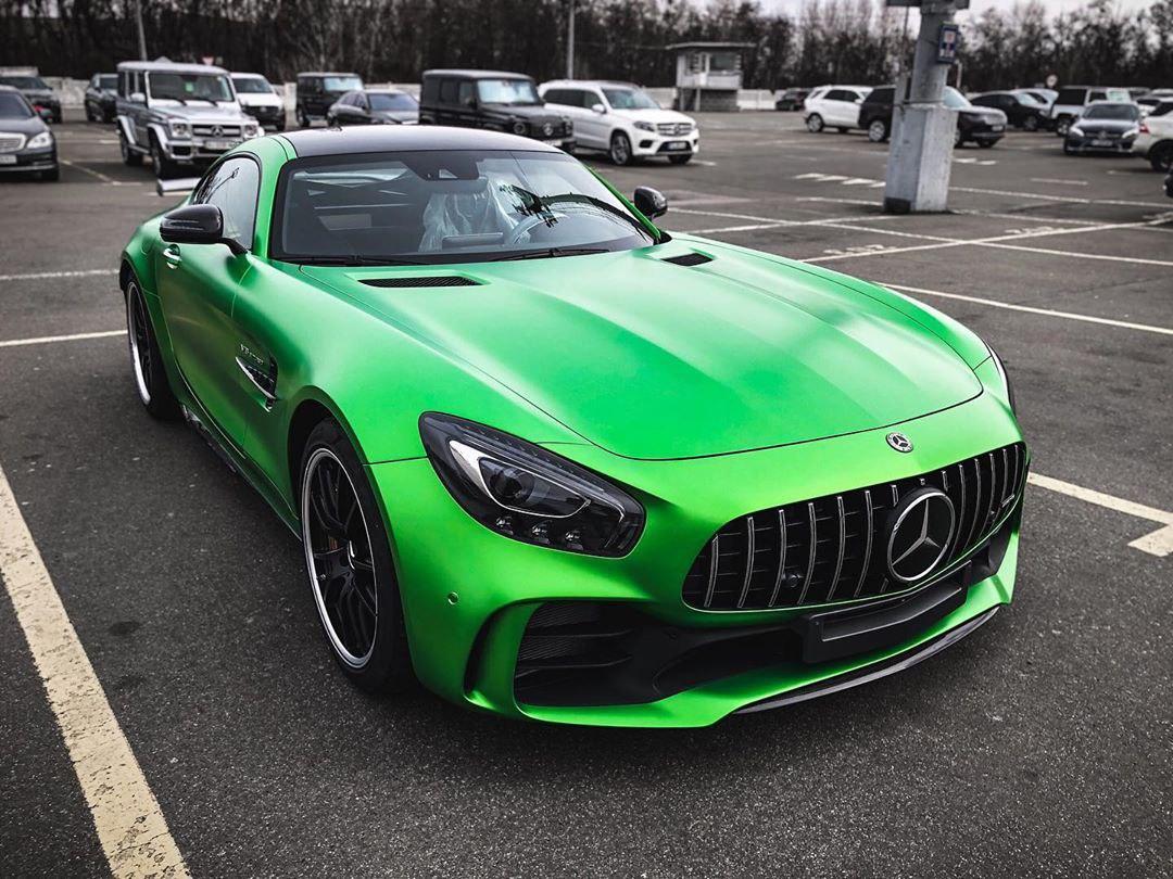 Редчайший суперкар Mercedes-AMG замечен в Украине 1