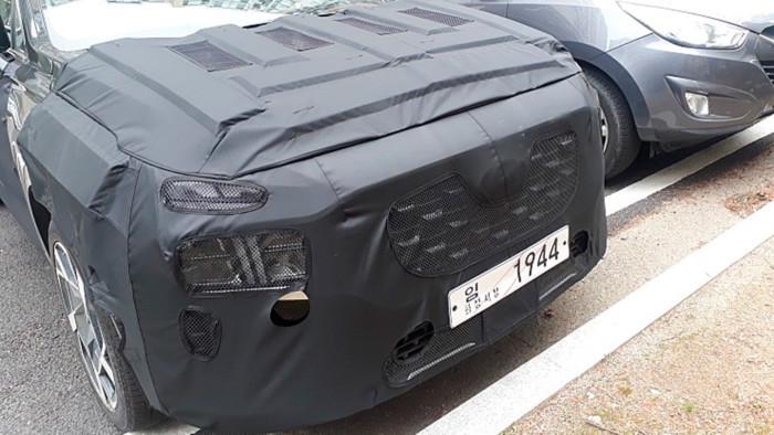 В Сети показали новый Hyundai Santa Fe 1