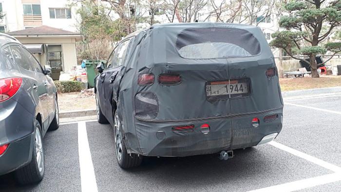 В Сети показали новый Hyundai Santa Fe 2