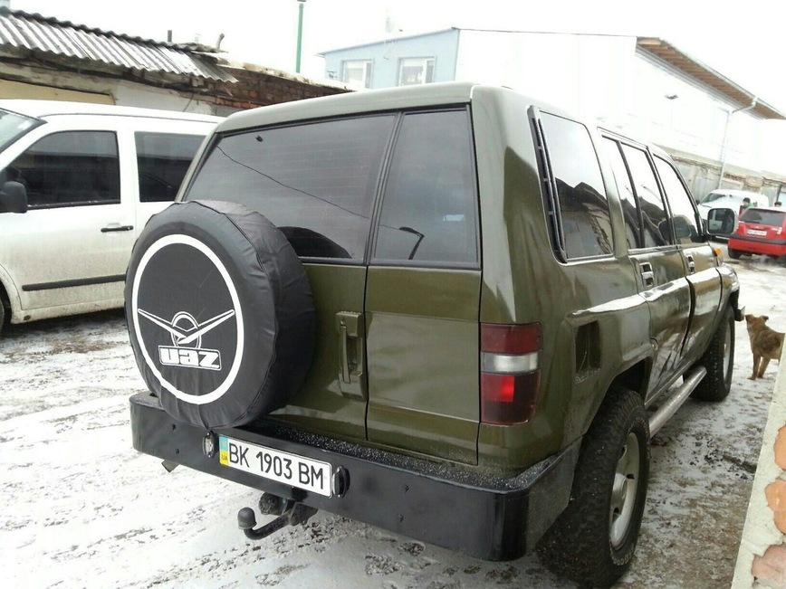 Украинец скрестил старенький Opel и УАЗ 2