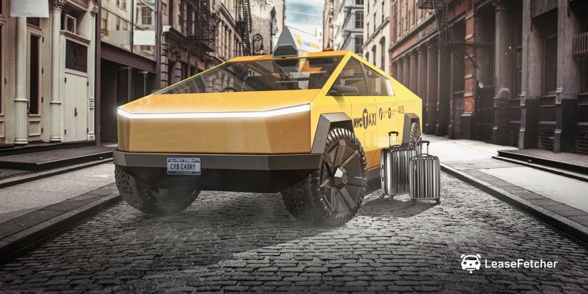 Tesla Cybertruck предстал в самых необычных образах 7