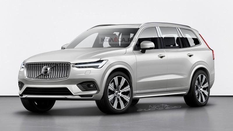 Опубликованы изображения нового Volvo XC100 1