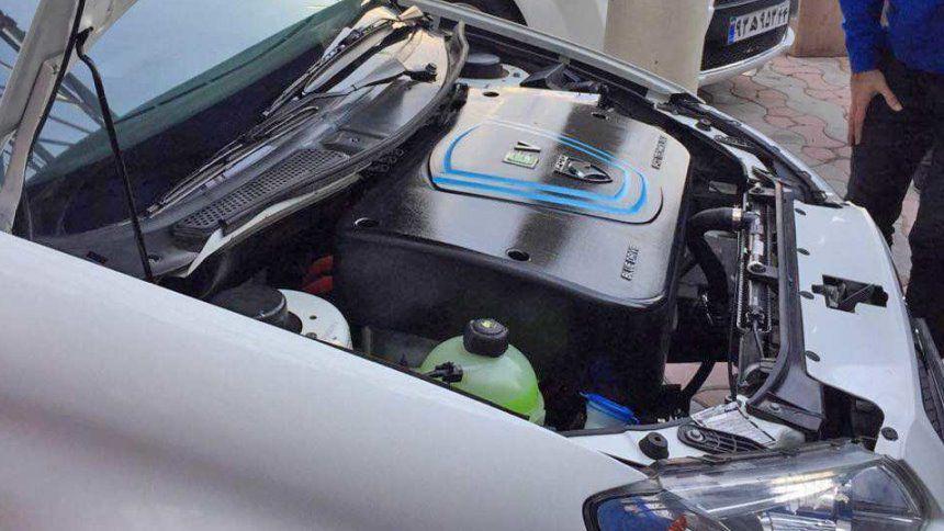Иранский бренд превратил Peugeot в электрокар 1