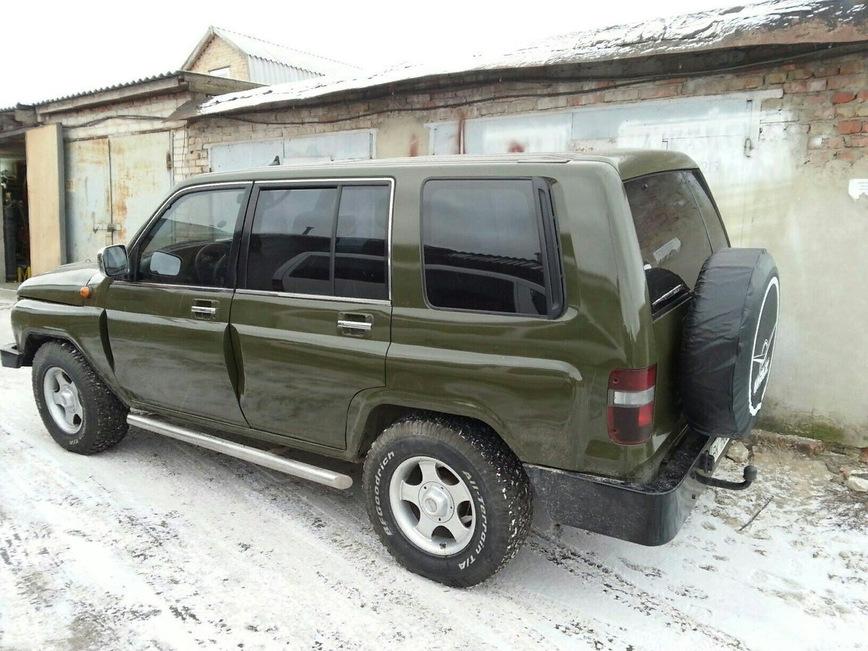 Украинец скрестил старенький Opel и УАЗ 1