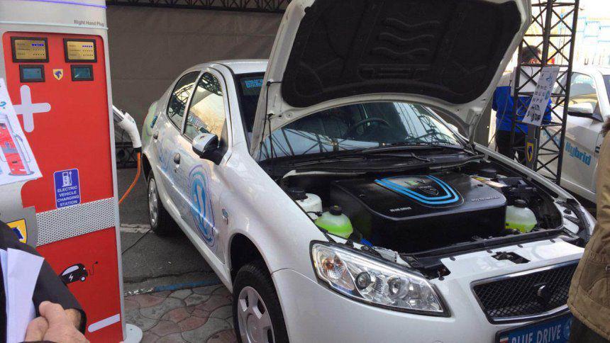 Иранский бренд превратил Peugeot в электрокар 2