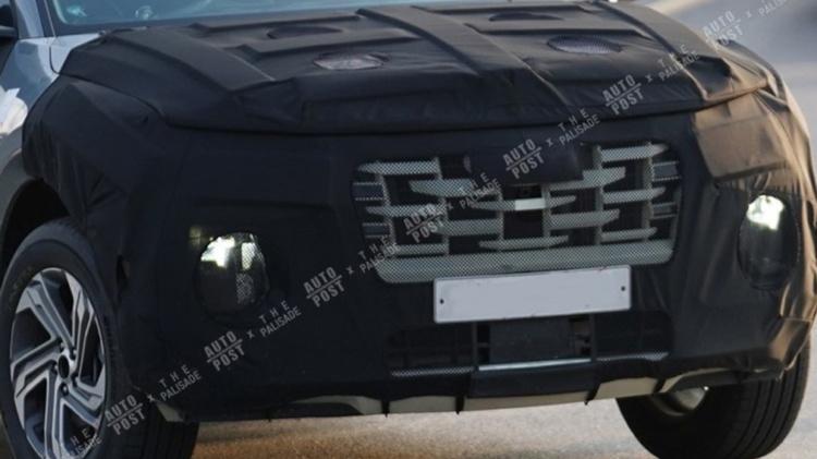 Серийный пикап Hyundai Santa Cruz замечен на тестах 2