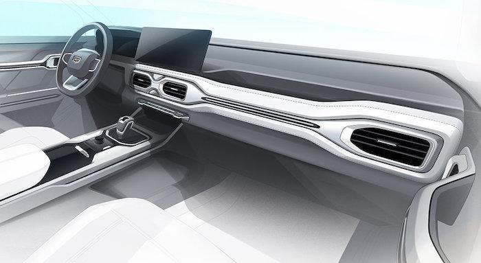 Компания Geely продемонстрировала конкурента Mitsubishi Outlander 2