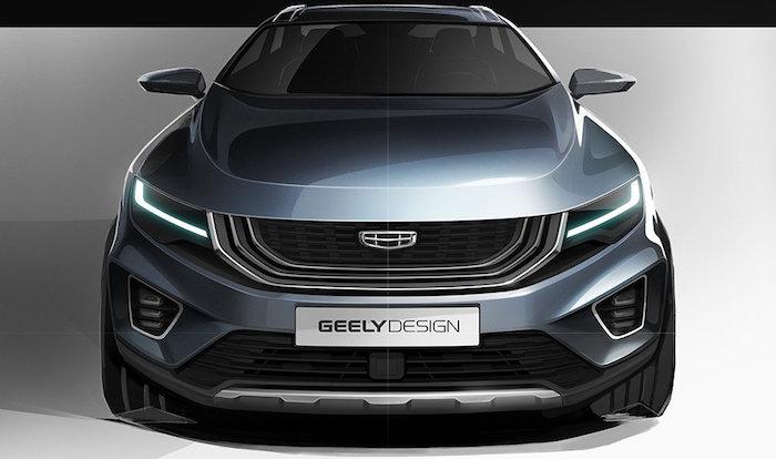 Компания Geely продемонстрировала конкурента Mitsubishi Outlander 1