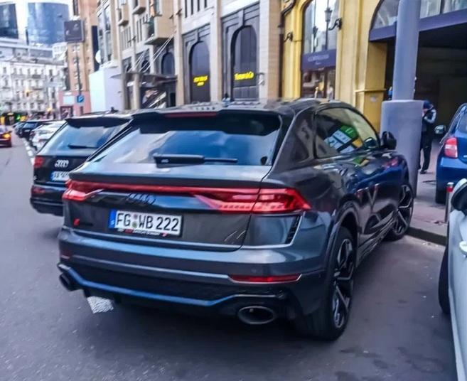 Audi RS Q8 уже в Украине 1