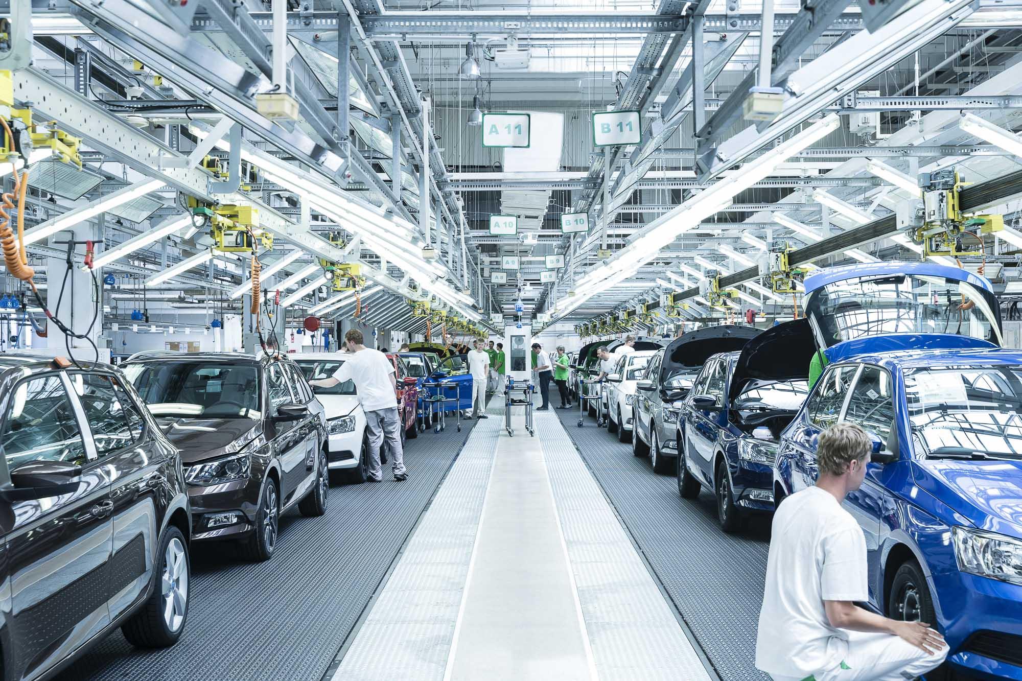 Skoda закрывает все свои заводы в Чехии 1