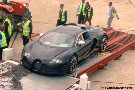 Редчайший Bugatti пустят под пресс 1