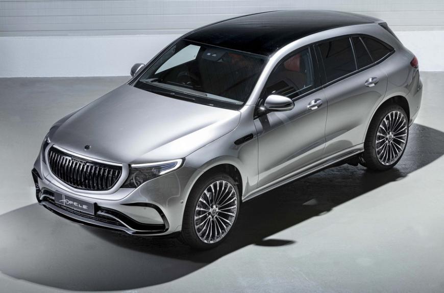 Электромобиль Mercedes-Benz EQC получил тюнинг в стиле Maybach 1