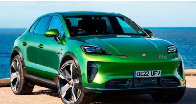 Каким будет электрический Porsche Macan 1
