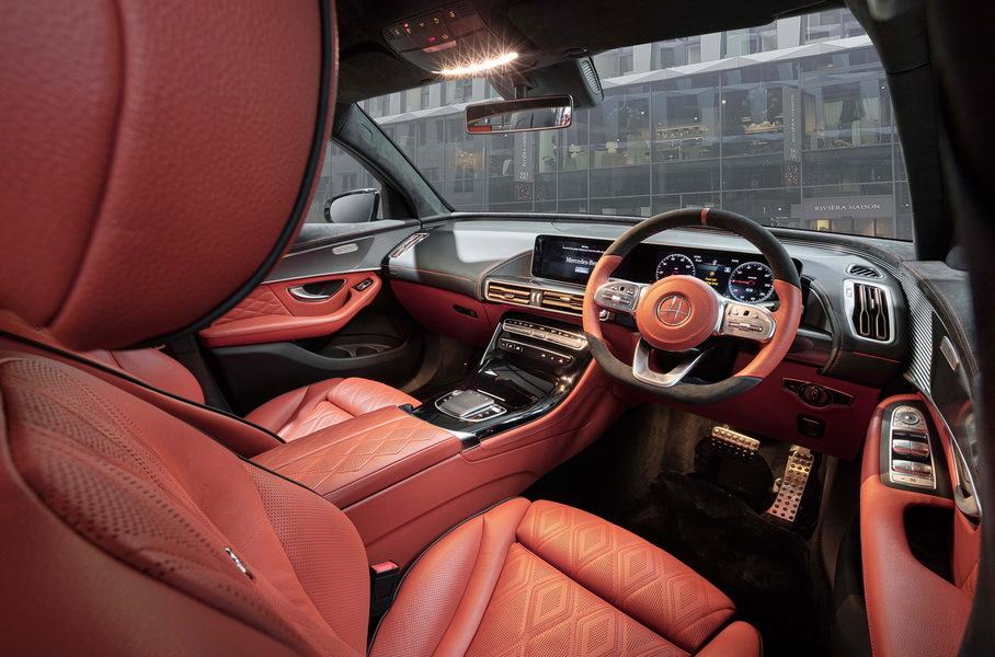 Электромобиль Mercedes-Benz EQC получил тюнинг в стиле Maybach 2