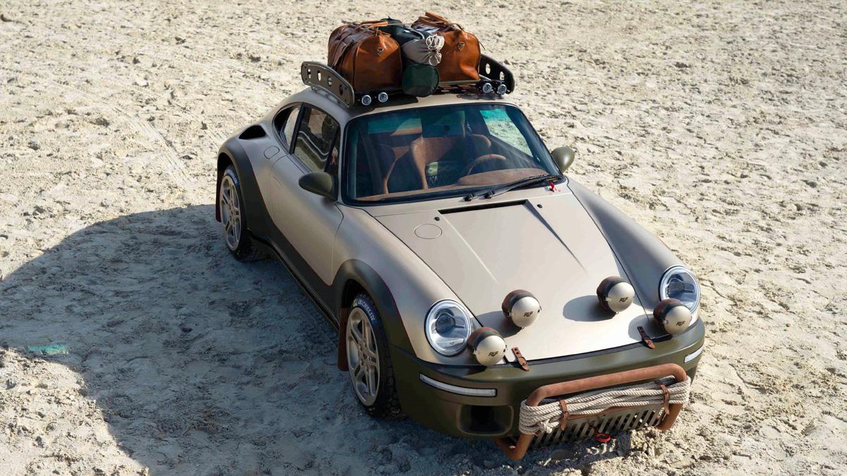 Ruf Rodeo: 510 сил, кенгурятник и дизайн в стиле Porsche 911 1