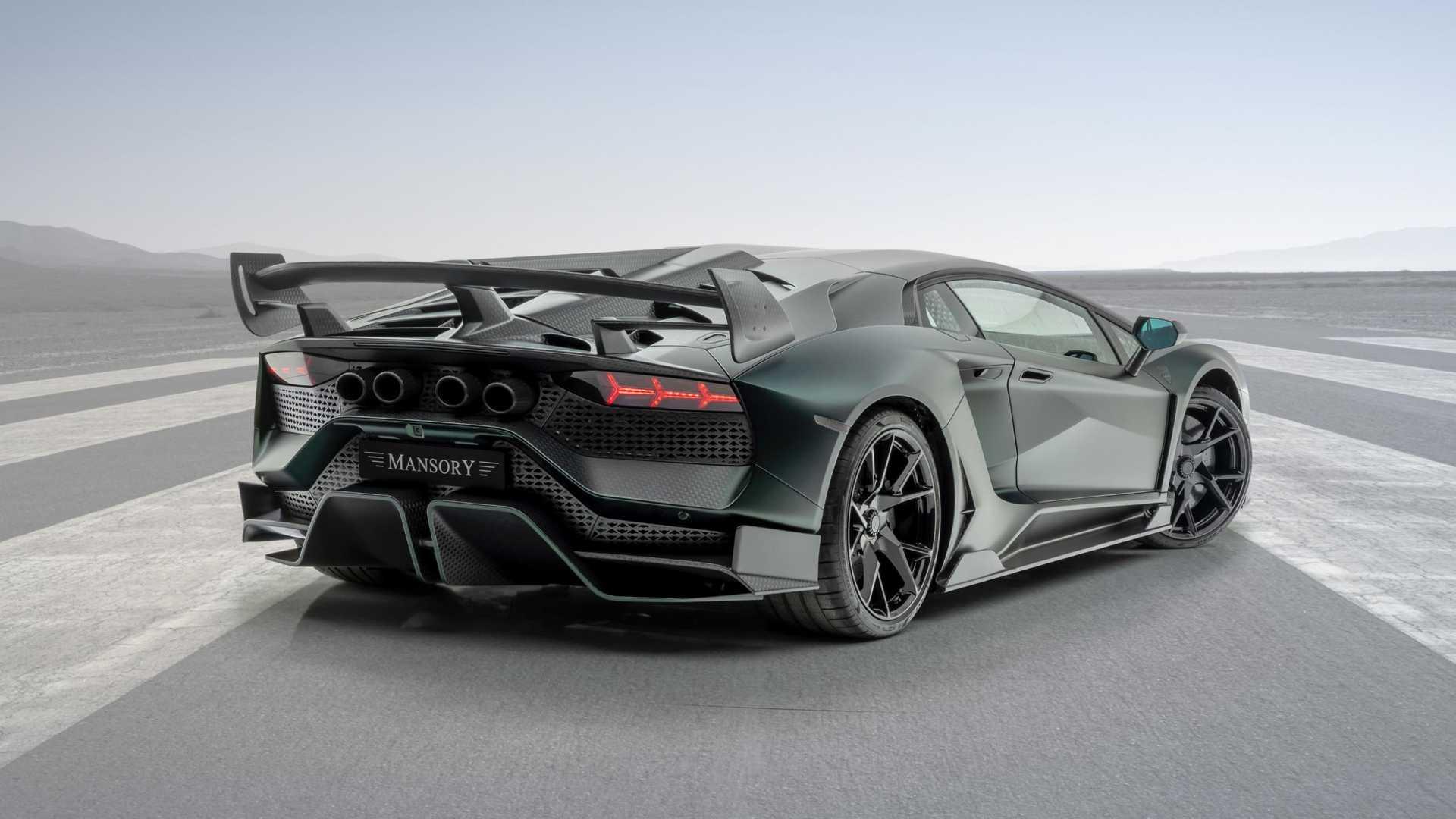 Тюнеры показали Lamborghini Aventador SVJ со «сплющенными» фарами 2