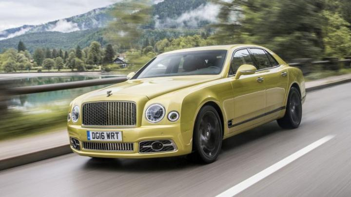 Bentley отправит седан Mulsanne на свалку истории 1