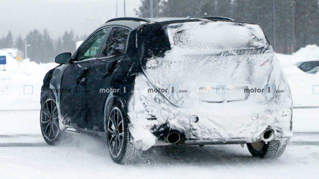 Hyundai вывел на тесты «заряженный» кроссовер Kona N 1
