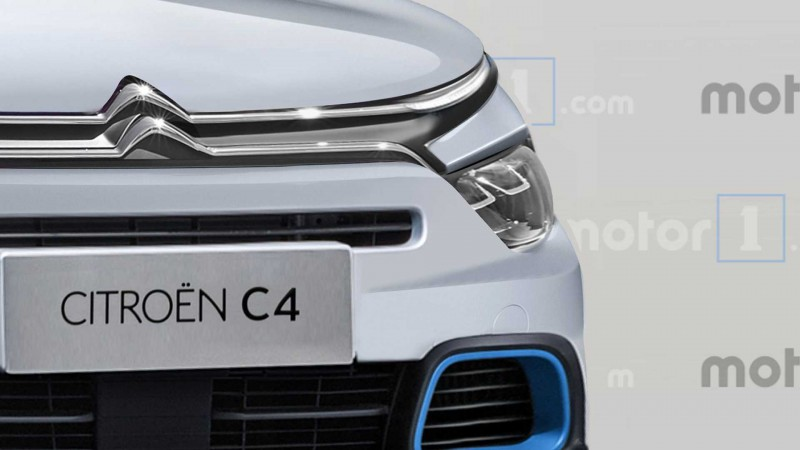 Опубликованы реалистичные рендеры нового Citroen C4 1