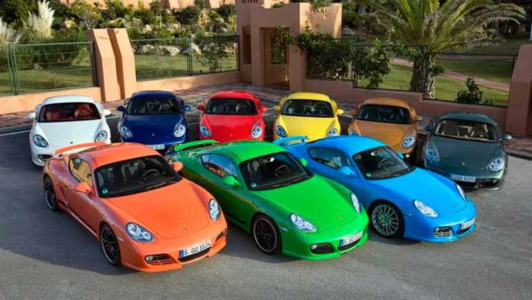 Названы цвета автомобилей, которые угоняют реже всего 1