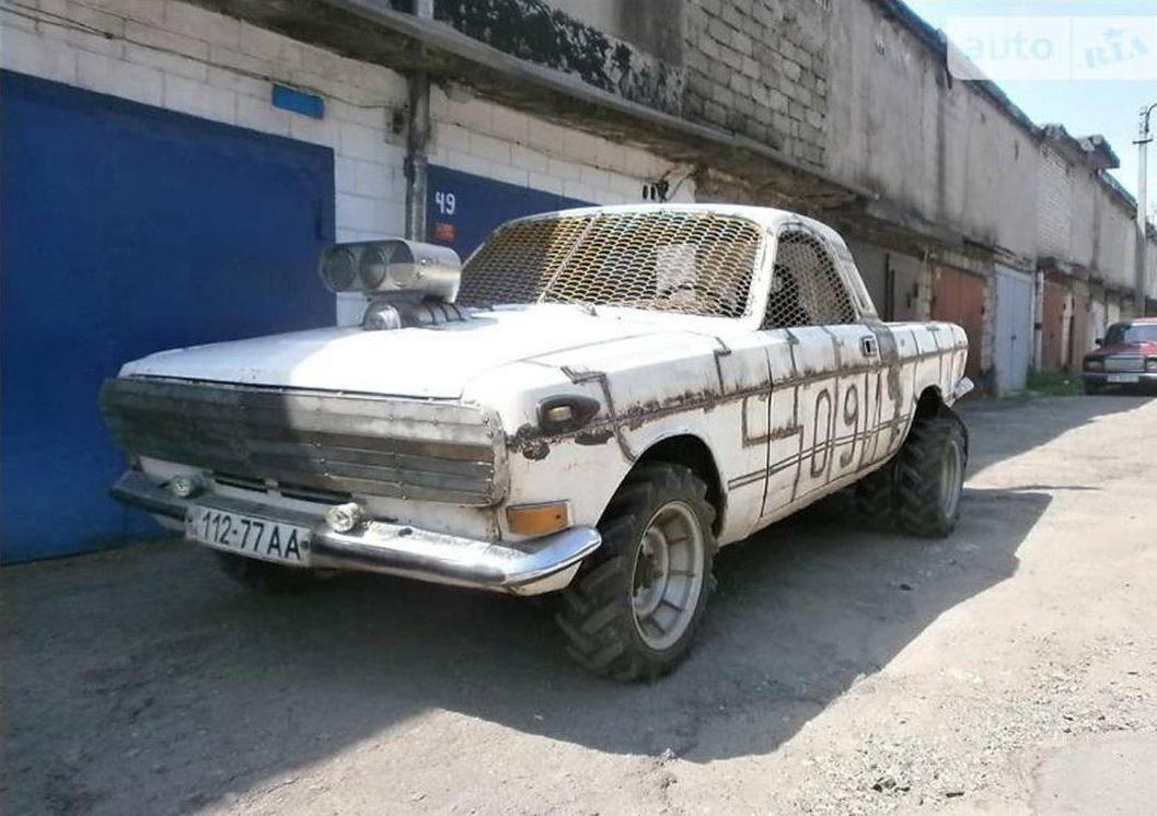 В Украине продается умопомрачительный пикап «Волга» 1